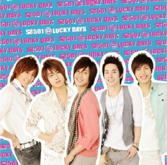Lucky Days (song) - Image: SS501 Lucky Days