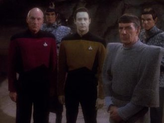 Unification (Star Trek: The Next Generation) - Picard and Data with Spock on Romulus