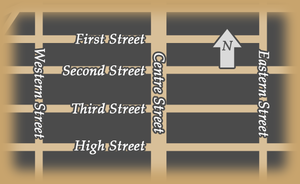 Eastern Street (Hong Kong) - A map for the area