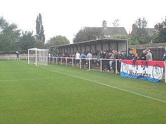 Worksop Town F.C. - Image: Sandy Lane Worksop 3