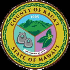 Kauai County, Hawaii - Image: Seal of Kauai County, Hawaii