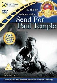 <i>Send for Paul Temple</i> 1946 film by John Argyle