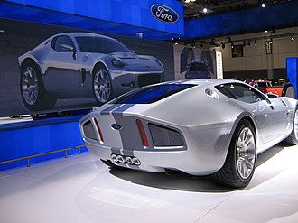 Ford Shelby GR-1 - Ford Shelby GR-1 at the 2007 Canadian International AutoShow.