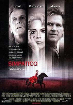 Simpatico (film) - Image: Simpatico movie poster