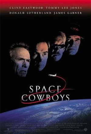 Space Cowboys - Theatrical release poster