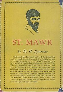 <i>St Mawr</i> book by D.H. Lawrence