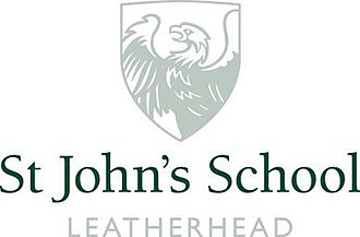 St John's School, Leatherhead - Image: St John's School Leatherhead Logo