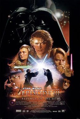 Star Wars: Episode III – Revenge of the Sith - Theatrical release poster by Drew Struzan
