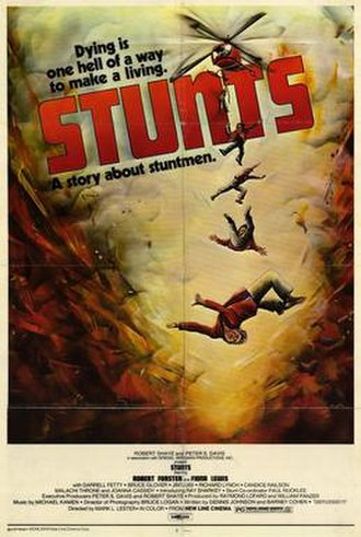 Stunts (film) - Image: Stunts 1977