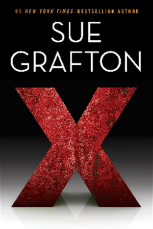 X (novel) - First edition cover