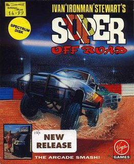<i>Super Off Road</i> 1989 racing video game
