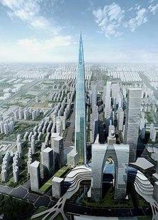 Suzhou Zhongnan Center Under-construction Skyscraper in Suzhou, China