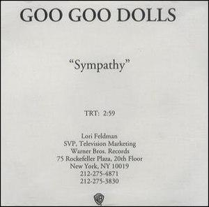 Sympathy (Goo Goo Dolls song) - Image: Sympathy GGD Single