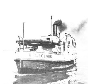 Fireboats of Toronto - Image: TJ Clark in 1958 (claiming fair use)
