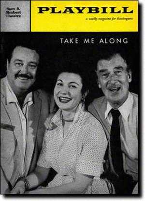Take Me Along - 1959 Broadway Playbill