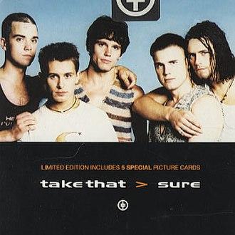 Sure (Take That song) - Image: Take that sure cd 2