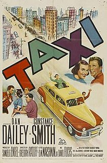<i>Taxi</i> (1953 film) 1953 film by Gregory Ratoff