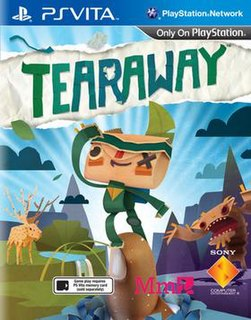 <i>Tearaway</i> (video game) 2013 platform-adventure video game