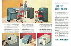 Teletype Model 28 - The Teletype Corporation Model 28 Line of Equipment