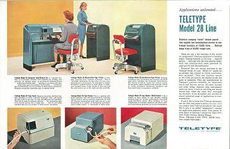 Teletype Model 28 - The Teletype Corporation Model 28 Line of Equipment