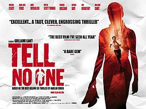 Tell No One - UK release poster