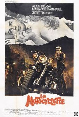 The Girl on a Motorcycle - French theatrical release poster