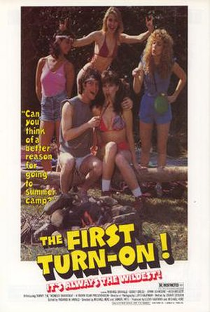 The First Turn-On! - DVD cover for 'The First Turn-On!'