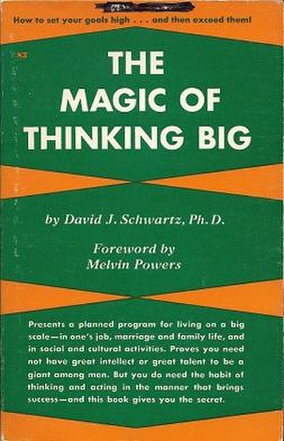 Picture of a book: The Magic Of Thinking Big