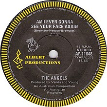 The Angels - Am I Ever Gonna See Your Face Again.jpg