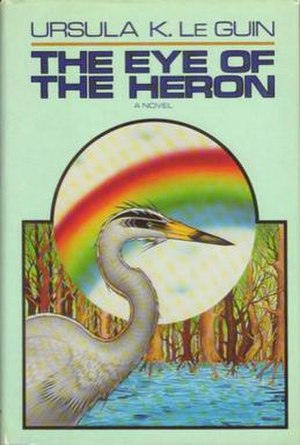 The Eye of the Heron - Cover of first edition (hardback)