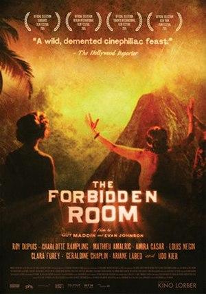 The Forbidden Room (2015 film) - Image: The Forbidden Room poster
