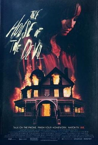The House of the Devil - Theatrical release poster by Neil Kellerhouse