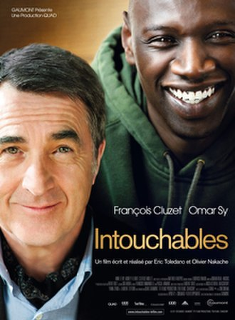 The Intouchables - French theatrical release poster