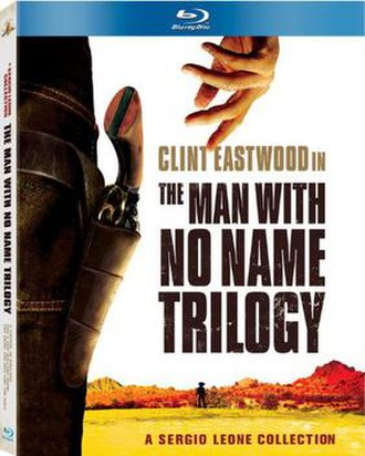 Dollars Trilogy - Blu-ray box set cover