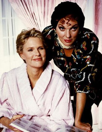 The Trials of Rosie O'Neill - Sharon Gless (left) as Rosie O'Neill Tyne Daly (right) appeared in one episode.