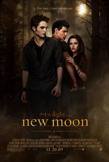 <i>The Twilight Saga: New Moon</i> 2009 film by Chris Weitz