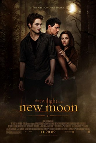 The Twilight Saga: New Moon - Theatrical release poster