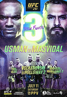 UFC 251 UFC mixed martial arts event in 2020