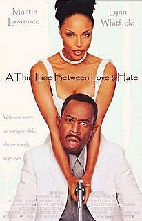 <i>A Thin Line Between Love and Hate</i> 1996 film by Martin Lawrence