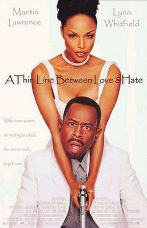 A Thin Line Between Love and Hate - Film poster