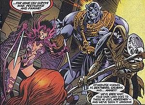 Horsemen of Apocalypse - Image: Thirdhorsemenxmen 97