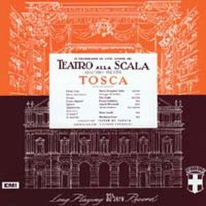 Tosca (1953 EMI recording) - Reissue of original 1953 LP cover