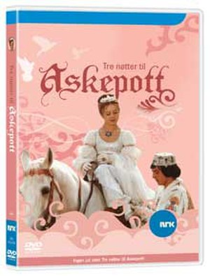 Tři oříšky pro Popelku - DVD cover of the Norwegian version, Tre nøtter til Askepott