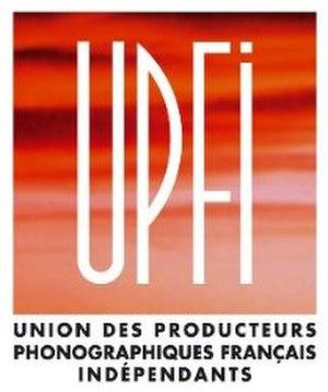Union des Producteurs Phonographiques Français Indépendants