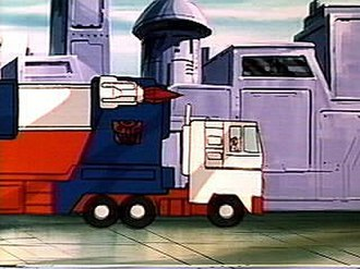 Ultra Magnus - Ultra Magnus in his Car Carrier Truck Mode.
