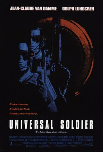 Universal Soldier (1992 film) - Theatrical release poster