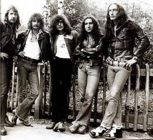 David Byron - David Byron and Uriah Heep classic line-up members in 1973