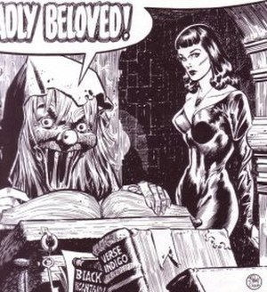 The Vault of Horror (comics) - The Vault-Keeper and Drusilla as rendered by Johnny Craig
