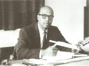Vainu Bappu - A photograph of M.K.V. Bappu.