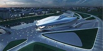 Vilnius Guggenheim Hermitage Museum - Winning design by Zaha Hadid